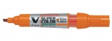 Whiteboard marker Pilot BG V orange - 10 stk