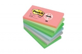 Post-it blok 655 Genbrugspapir, 76 x 127 mm. - 6 stk
