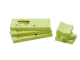 Post-it blok 653 38x51mm, blk. a 100 bl. - 12 stk