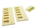 Post-it blok 655 76x127mm, blk. a 100 bl. - 12 stk