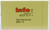 Memo-note blok 125x75 mm. - 12 stk