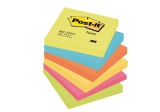 Post-it blokke 3M 76x76 mm - 6 stk