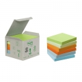 Post-it blok 76x76 mm - 6 stk