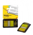 Post-it indexfaner 680YW2 gul, 25x43 cm - 1 pakke