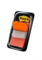 Post-it indexfaner 3M orange, 25x43 cm - 50 stk