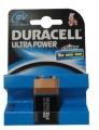 Batteri Duracell MX1604 9V, Ultra Power 6LR61 - 1 stk