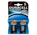 Batteri Duracell MX1400 TYPE C, Ultra Power LR14  - 2 stk