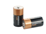 Batteri Duracell MN1400 TYPE C, Plus Power LR14  - 2 stk