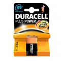 Batteri Duracell MN1604 9V, Plus Power 6LF22  - 1 stk