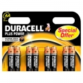 Batteri Duracell MN1500 AA, Plus Power - 8 stk.