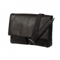 Leather messenger for PC & MacBooks up to 13\'\' - Hunter dark