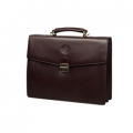 Leather briefcase for PC & MacBooks up to 14\'\' - Colorado