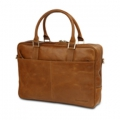 Leather business bag Rosenborg up to 14\'\' –  Golden tan