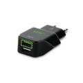 Puro Uni. Fast Travel Charger USB 3.4A Black
