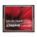 Kingston Ultimate CompactFlash 266x w/Recovery s/w 16GB