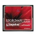 Kingston Ultimate CompactFlash 266x w/Recovery s/w 32GB