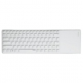 RAPOO E6700 Tablet Keyboard w/Touchpad Nordic Layout Hvid