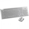 RAPOO 8200P Wireless keyboard & Mouse combo Model White