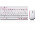 RAPOO 8000 Wireles Mouse & Keyboard Nordic Layout White