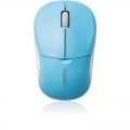 RAPOO 1090P 5G Wireless Entry Level 3 Key Mouse Light Blue