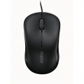 RAPOO N1130 Wired Compact Optical Mouse Black