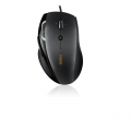 RAPOO N6200 Wired Optical Mouse Full size Ergo, 4D Scroll US