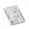 Esselte cover glass clear 105my A5 100 stk