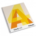 Esselte college pad A4 70g/70 sheets squared 10 stk