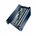 Leitz project file recycle PP Dark Blue 5 stk