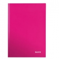 Leitz WOW notepad A4 Ruled 90g/80sh Pink 6 stk