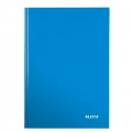 Leitz WOW notepad A4 Ruled 90g/80sh Blue 6 stk