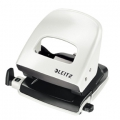 Leitz 5008 hole punch 2h/30 sheets Pearl White 1 stk