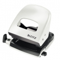 Leitz 5008 hole punch 2h/30 sheets Pearl White - Blister 1 stk