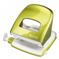 Leitz 5008 hole punch 2h/30 sheets Green - Blister 1 stk