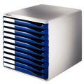 Leitz Form set 10 drawers A4 Blue 1 stk